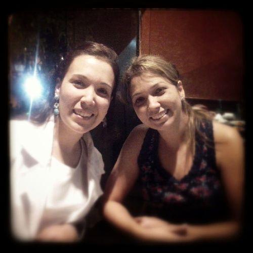 Noite com a cunhada @crislevyy e com meu amor @giselepirescn Conviv ência Partilha Descanso