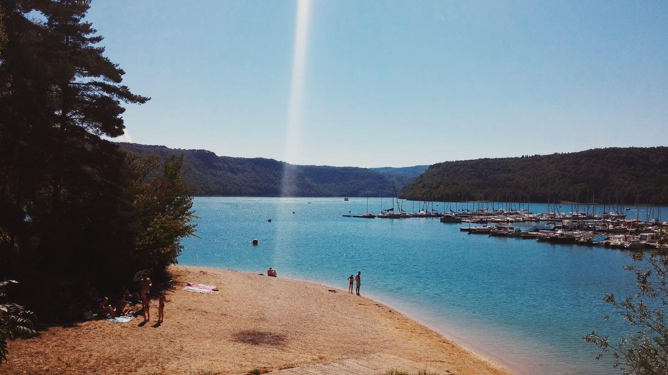 Sunday afternoon. Summer Views Landscape Getting Inspired Escape Eyemnaturelover Lake Vscocam Glitch