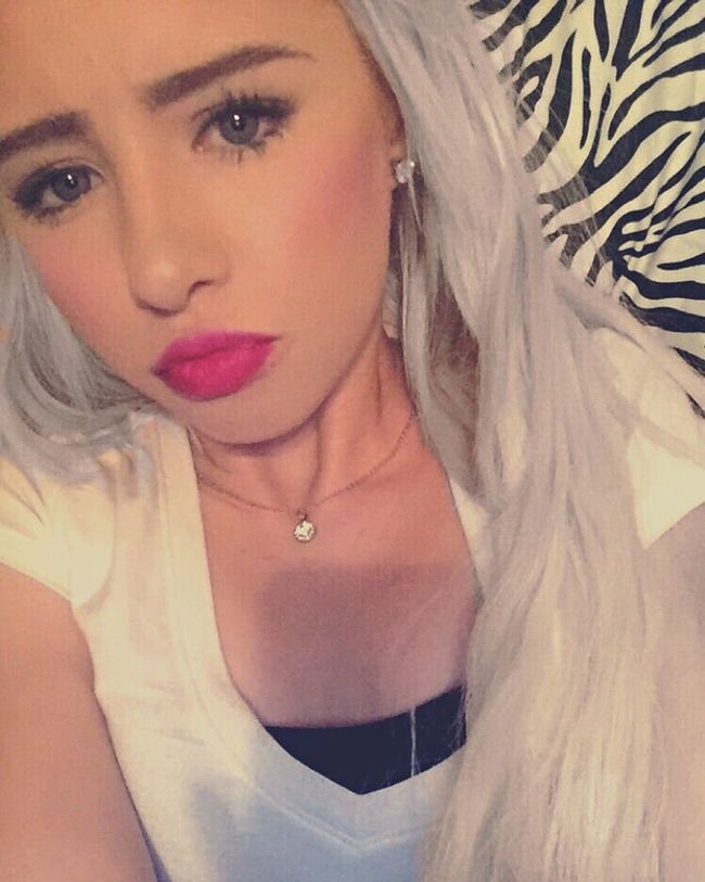 Contour 😛 Countour Blonde Girl First Eyeem Photo