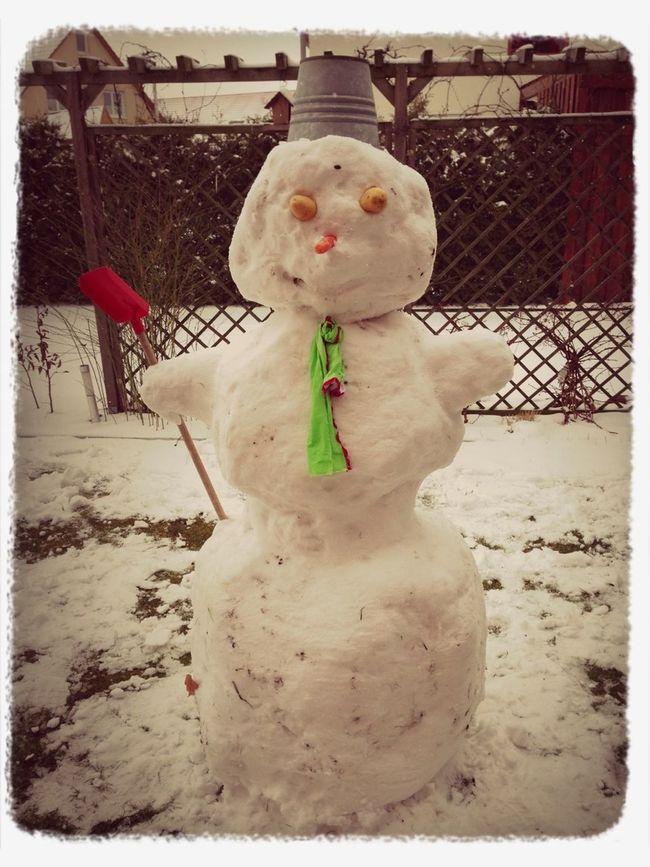 Schneemann Bauen