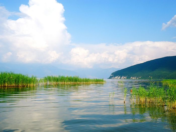 Lake Photography Escapereality Relax Beautiful Mountains Simple Photography Simplethings Water Clouds Hay