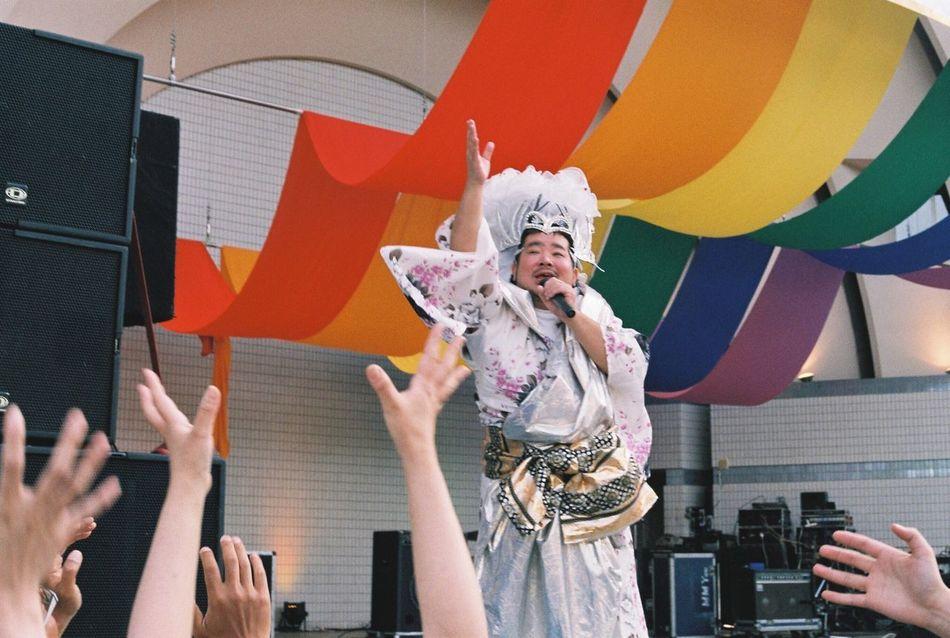 20160507 Tokyo Rainbow Pride 東京レインボープライド at Yoyogi Park 代々木公園 Tokyo,Japan 東京 日本 Lgbt Lgbtaiq Lgbt Pride セクマイ Canon F-1 Film Photography 35mm Film