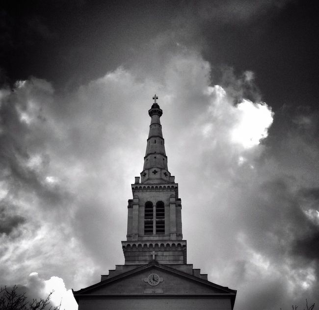 Bonne Soirée! EE_Daily: Black And White BNW PARIS AMPt_community Sky_collection