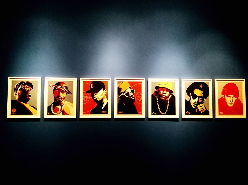Art OBEY Shepard Fairey Art HipHop