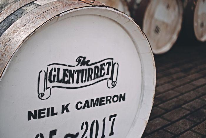 Glenturret Text No People Close-up Whisky Perthshire Summer Glenturret Distillery The Famous Grouse Crieff Scotland Wood Whisky Cask Whisky Barrels Barrel Casks Barrels Western Script Text