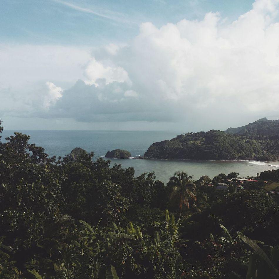 Taking Photos Relaxing Island Islet