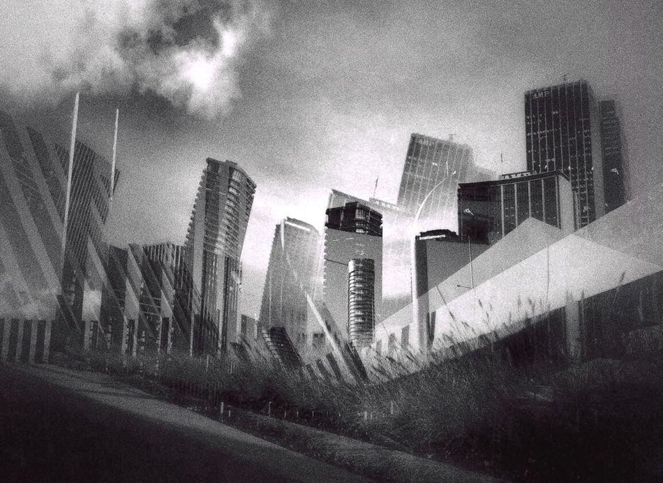 Black & White Urban Aesthetics Urban Geometry Precision Shaping The Future. Together.