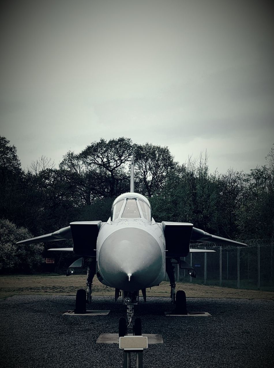 Tornado Jet Aircraft Royal Air Force Airforce Aeroplane Airplane Air Vehicle Aerospace Industry Military Outdoors No People Air Force Sky Day Cockpit Black And White Photography Aviation