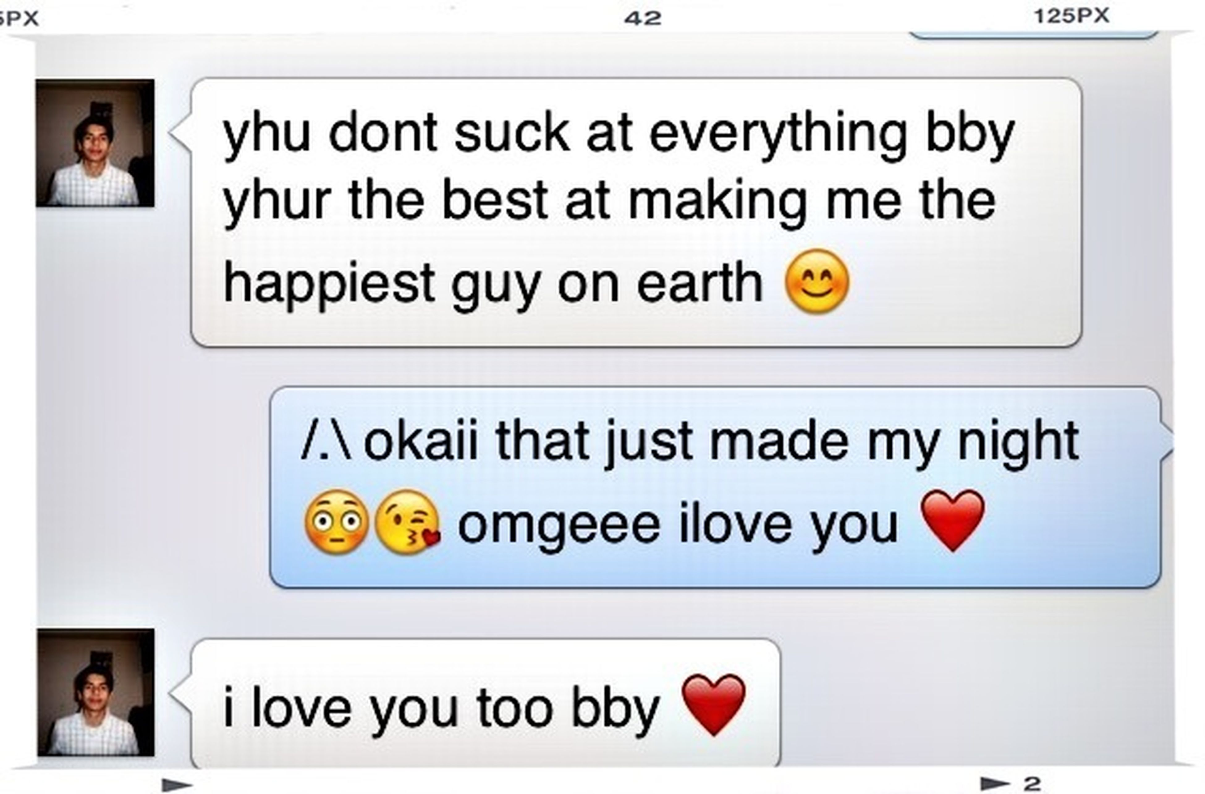 Omg his just so sweet how can i not love him ❤