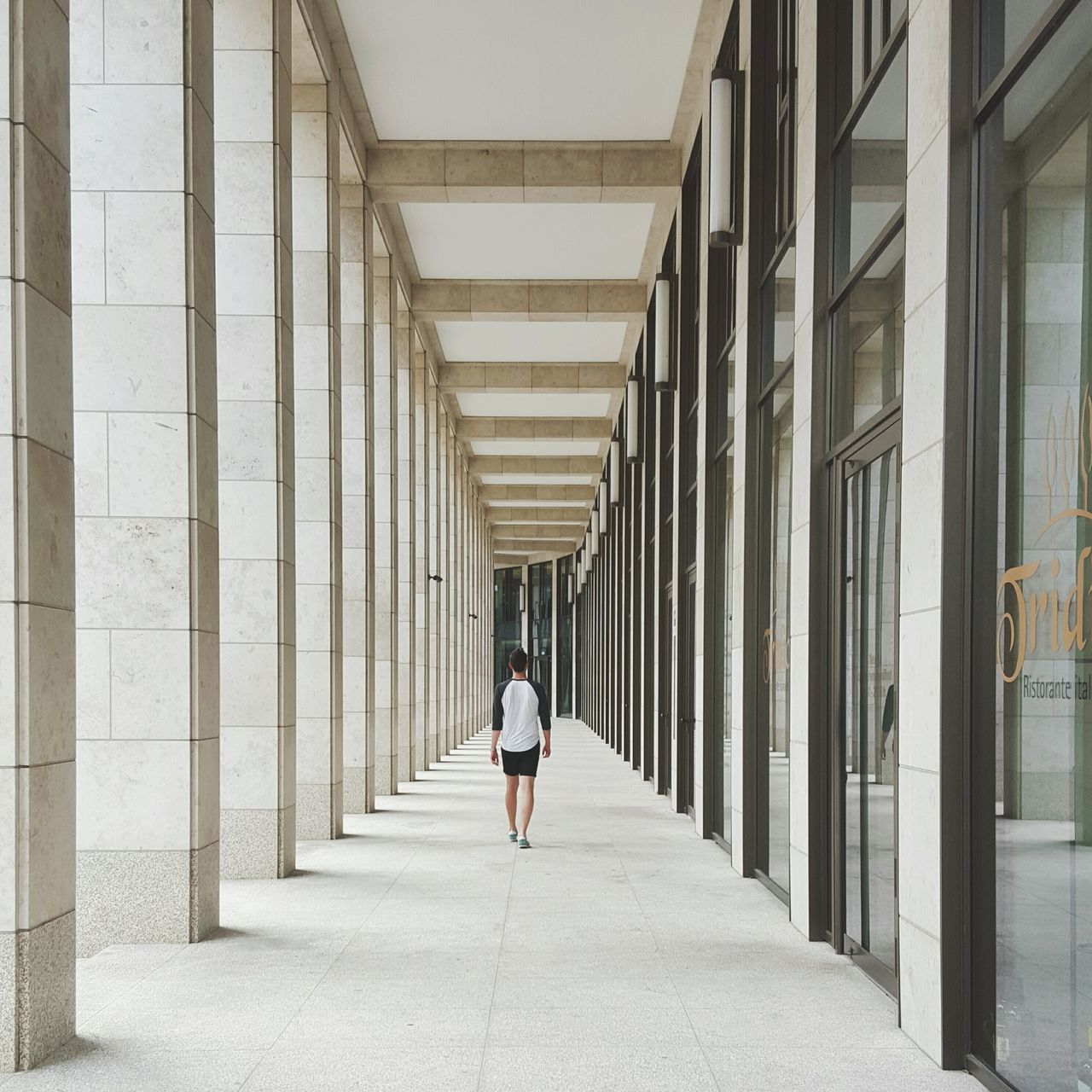 Let's walk this way! Architecture The Traveler - 2015 EyeEm Awards People Urban Geometry Minimalism Wanderlust Portrait City Open Edit EyeEm Best Shots