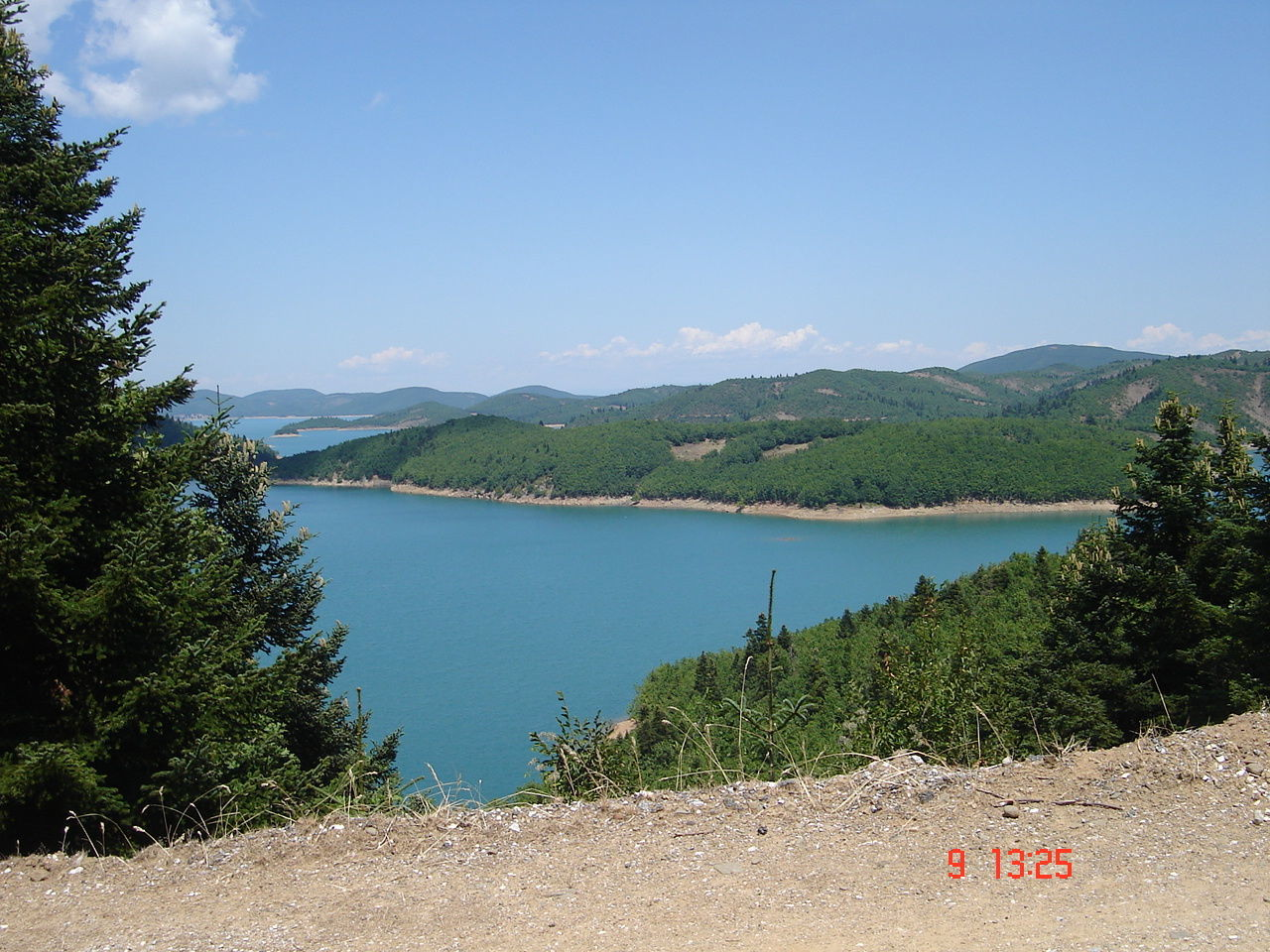 Lake Landscape Mountain Water Nature Tree Mountain Range Sky Outdoors Forest No People Day Plastira Lake, Karditsa Karditsa Greece Karditsa  Beauty In Nature Mountain Landscape Mountain View Mountain_collection