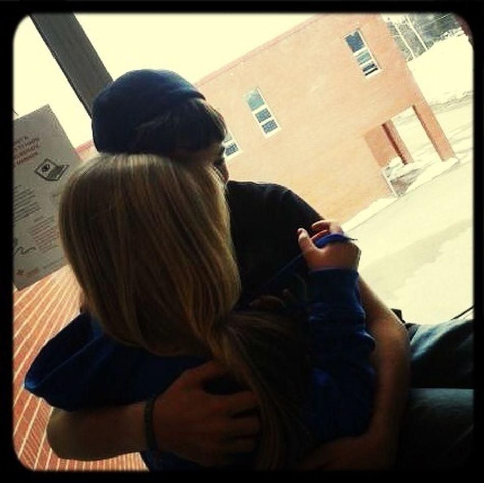 With my boy<3