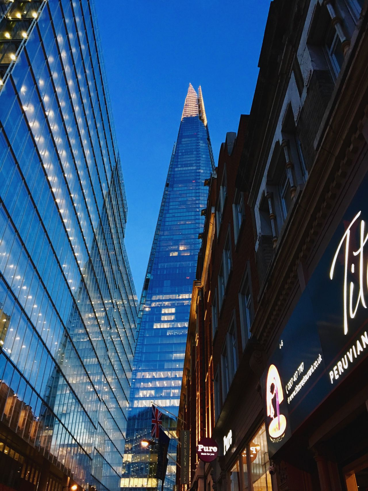 Travelphotography City Life Travel Photography London Lifestyle London Traveling City Built Structure Travel Architecture Building Exterior Skyscraper Modern Architecture Travel Destinations London_only Outdoors Low Angle View The Shard Shard