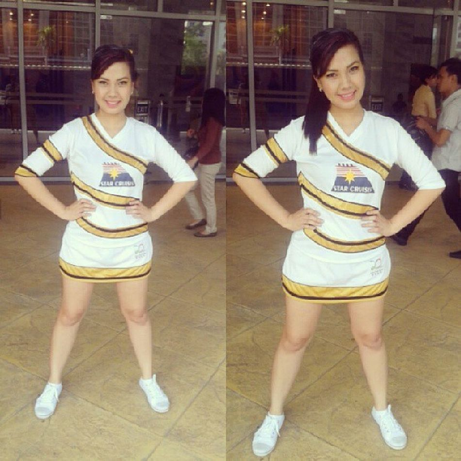 Move! Give way! @rainnelachix is on the way! Ootd Cheerdance @starcruisesasia ICAC