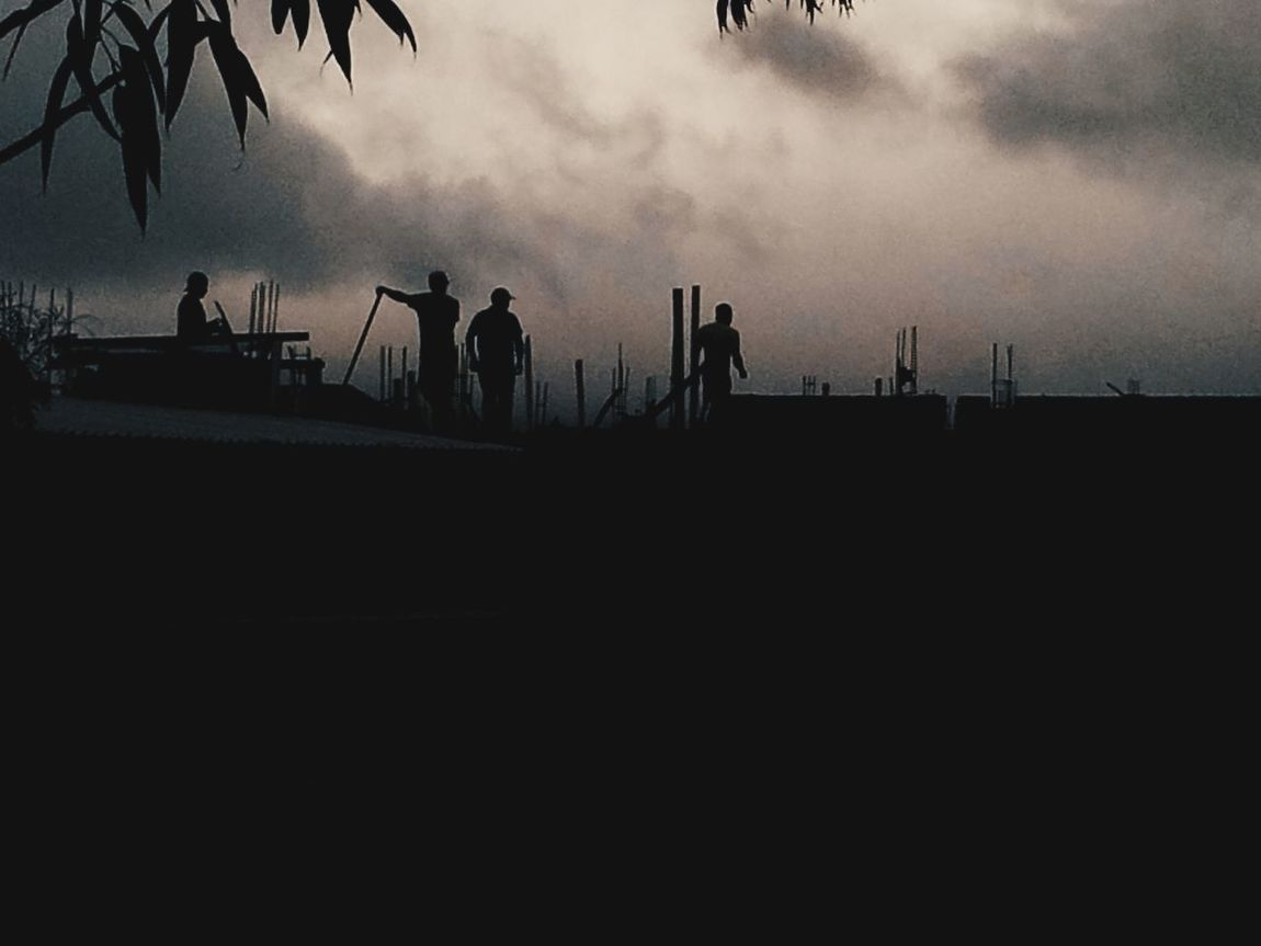 America Latina Workers Streetphotography Silhouette Latin America Tegucigalpa City City Life Vscocam
