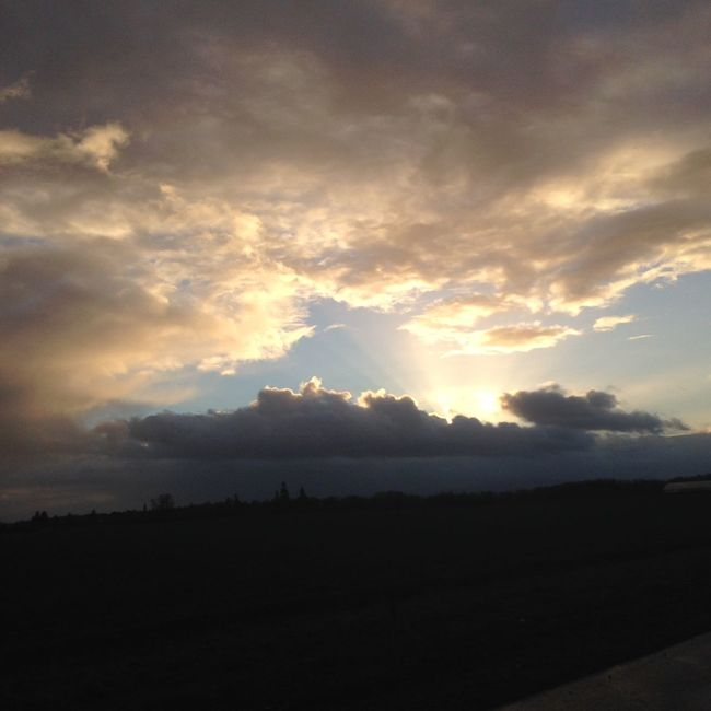 Atmosphere Atmospheric Mood Cloud Cloud - Sky Cloudscape Cloudy Distant Dramatic Sky Light Majestic Moody Sky Outdoors Overcast Silhouette Sky Storm Cloud Sunset Tranquil Scene