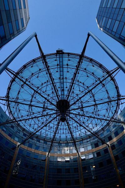 The Graphic City Blue Sky Spiderform EyeEmNewHere