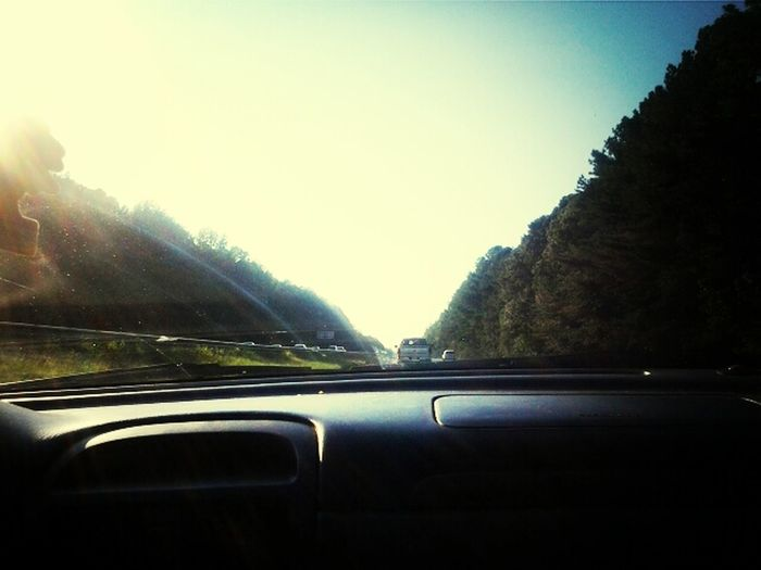 on the road back to Alabama. i had a lot of fun in Florida <3
