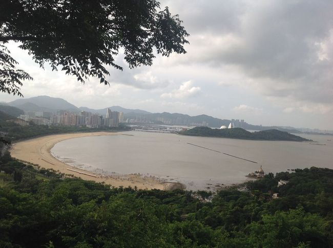 Architecture Branch Bridge - Man Made Structure Built Structure City Cityscape Cloud - Sky Day Distant Growth Mountain Mountain Range Outdoors River Scenics Sea Sky Tourism Tranquil Scene Tranquility Travel Destinations Tree Vacations Water Zhuhai