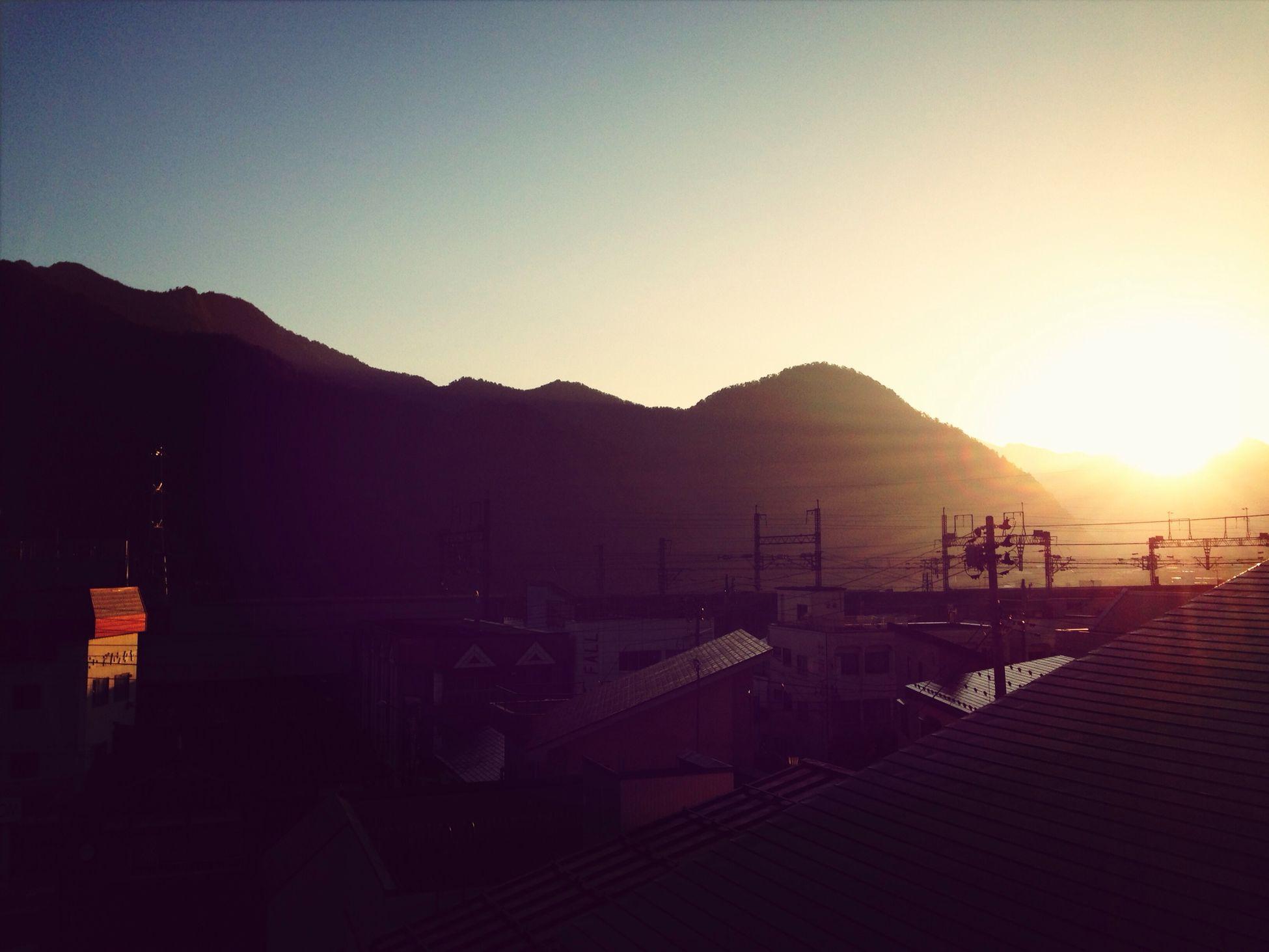 湯沢の朝。 Taking Photos Travel Morning Onsen