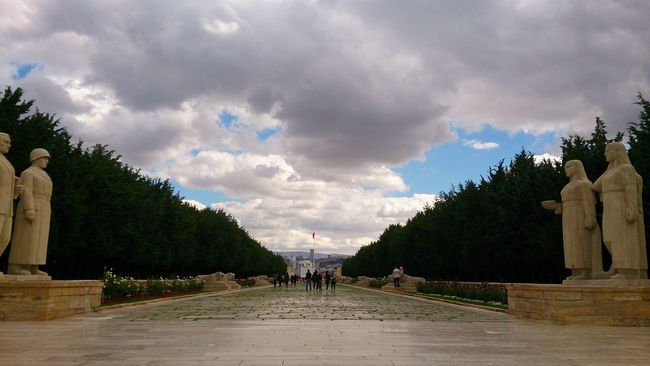 Anıtkabir Aslanlı Yol Cloud - Sky Check This Out Photooftheday EyeEm Best Shots Turkeyphotooftheday Türkiye Ankara Nofilter