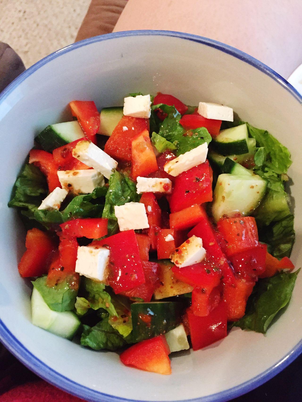 Salad Salad Feta Feta Cheese Healthy Healthy Eating Healthy Food