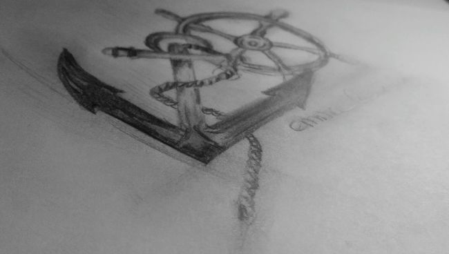 My Drawing Ancre Marine