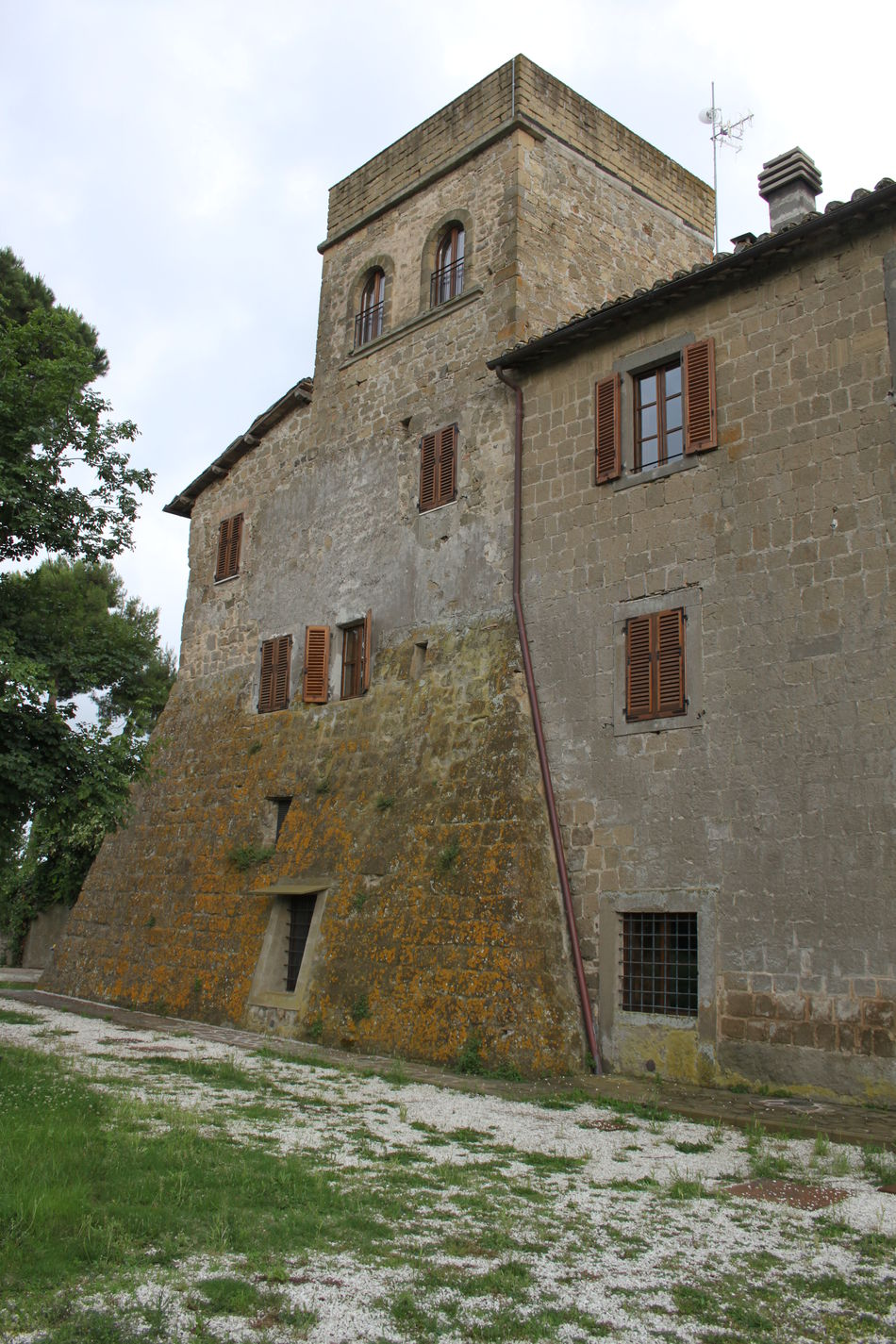 Architecture Building Exterior Day Exterior Fortified House Italy Montefiascone No People Outdoors