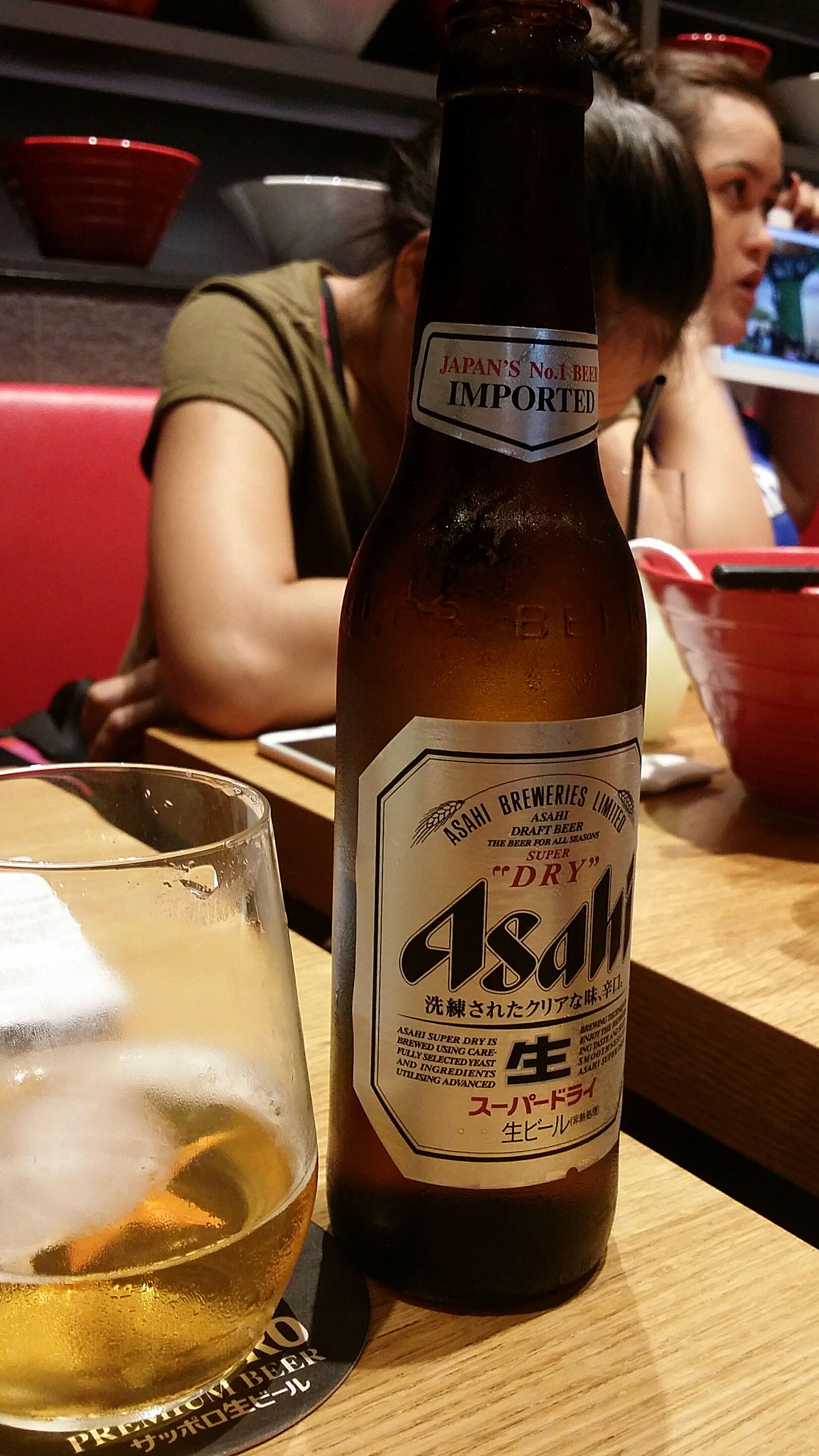 Asahi Beer Superdry Beer Japanese Beer Sunday Lunch Singapore Asahi Breweries Draft Beer