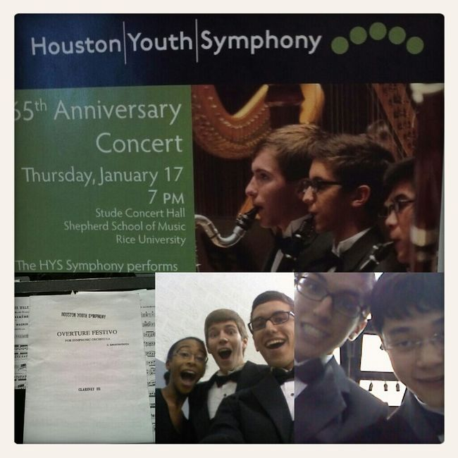 Successful 65th Anniversary concert! Houston Youth Symphony