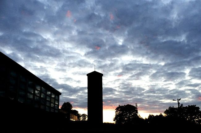 Tower Sunset Hiedanranta