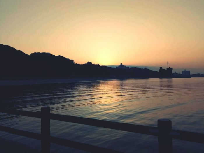 Travel Water Travel Destinations Lake Sunset Landscape Beauty In Nature Nature Human Eye Sky Outdoors No People Cloud - Sky Japan Last December People