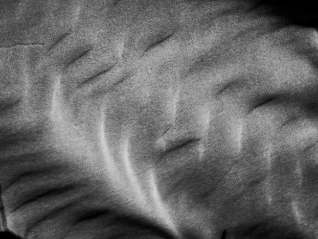 Photo Photography Mobilephotography Blackandwhite Photography IPhoneography Blackandwhite Beach Sand Shape Shapes And Forms Shapes In Nature