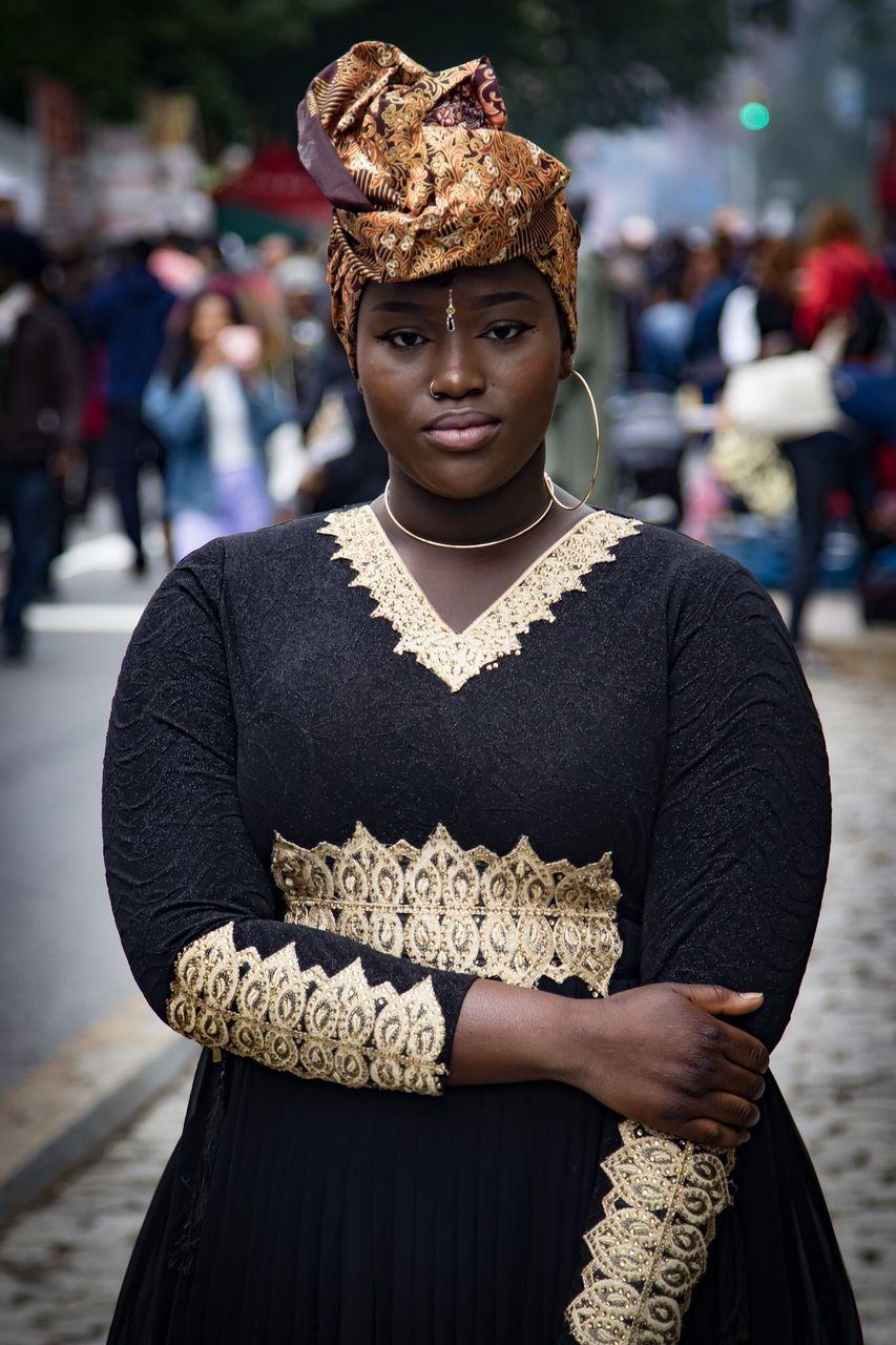 Dance Africa Festival 2017 Brooklyn, NY blackgirlmagic melanin Black Dress headwrap culture ethnic streetfestival festival Brooklyn gambia BlackWoman African streetphotography