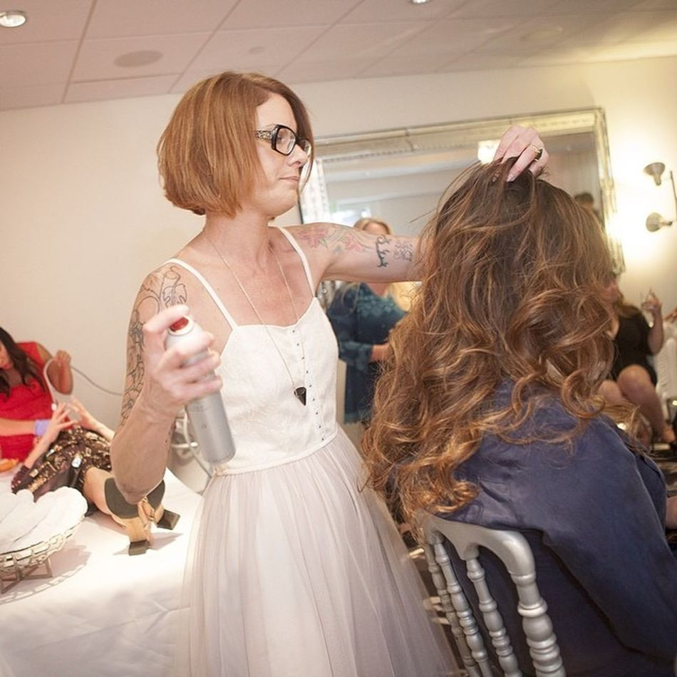 @VenusLegacy I had so much fun at your event. StylingHair was so fun