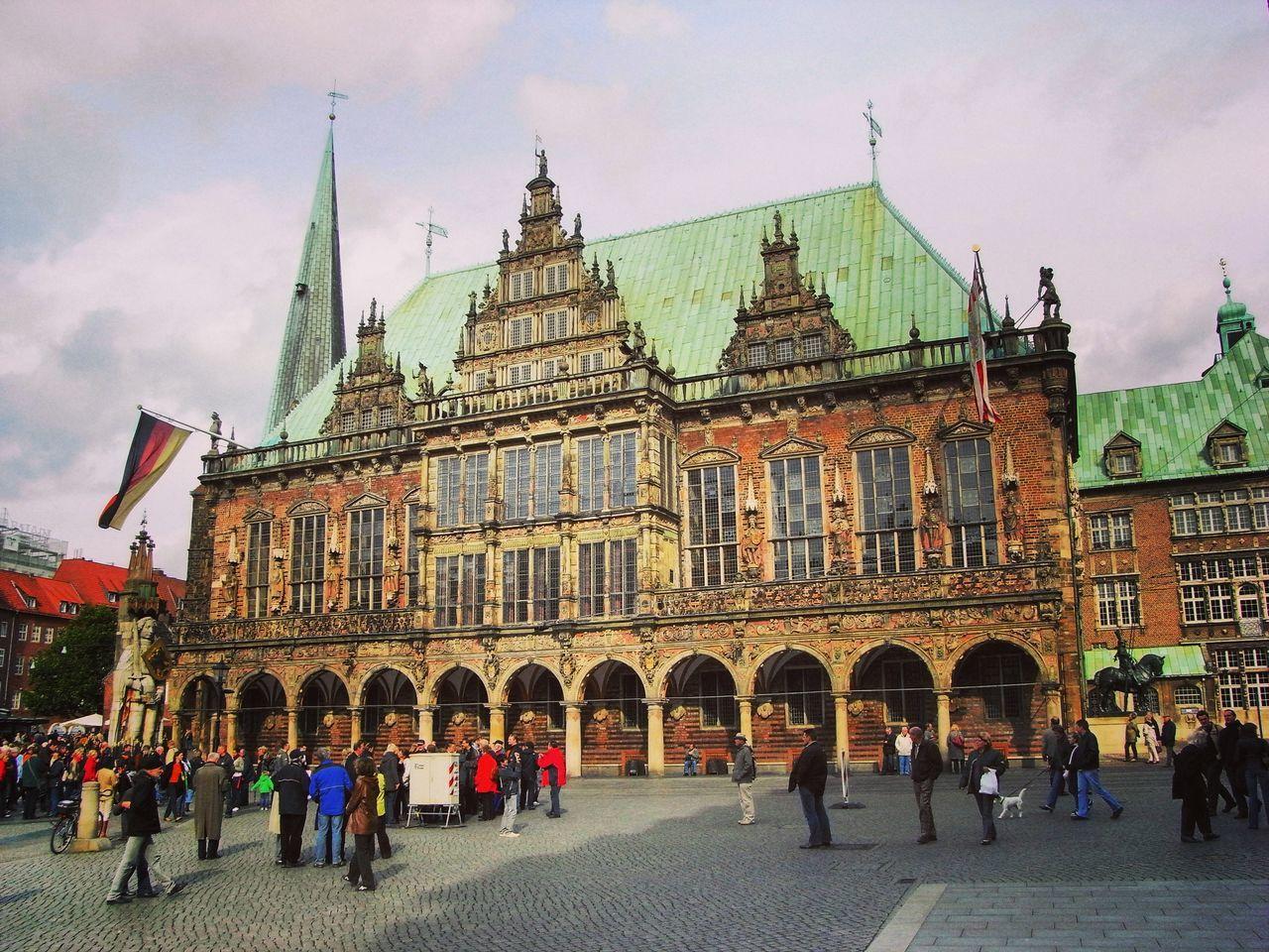 Rathaus in Bremen Bremer Rathaus Bremen Architecture Norddeutschland