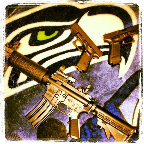 TheseareafewofMYfavoritethings Glock19 Glock17 Windham AR15 556MM magpul reflexsite lovemyrights 2ndamendment
