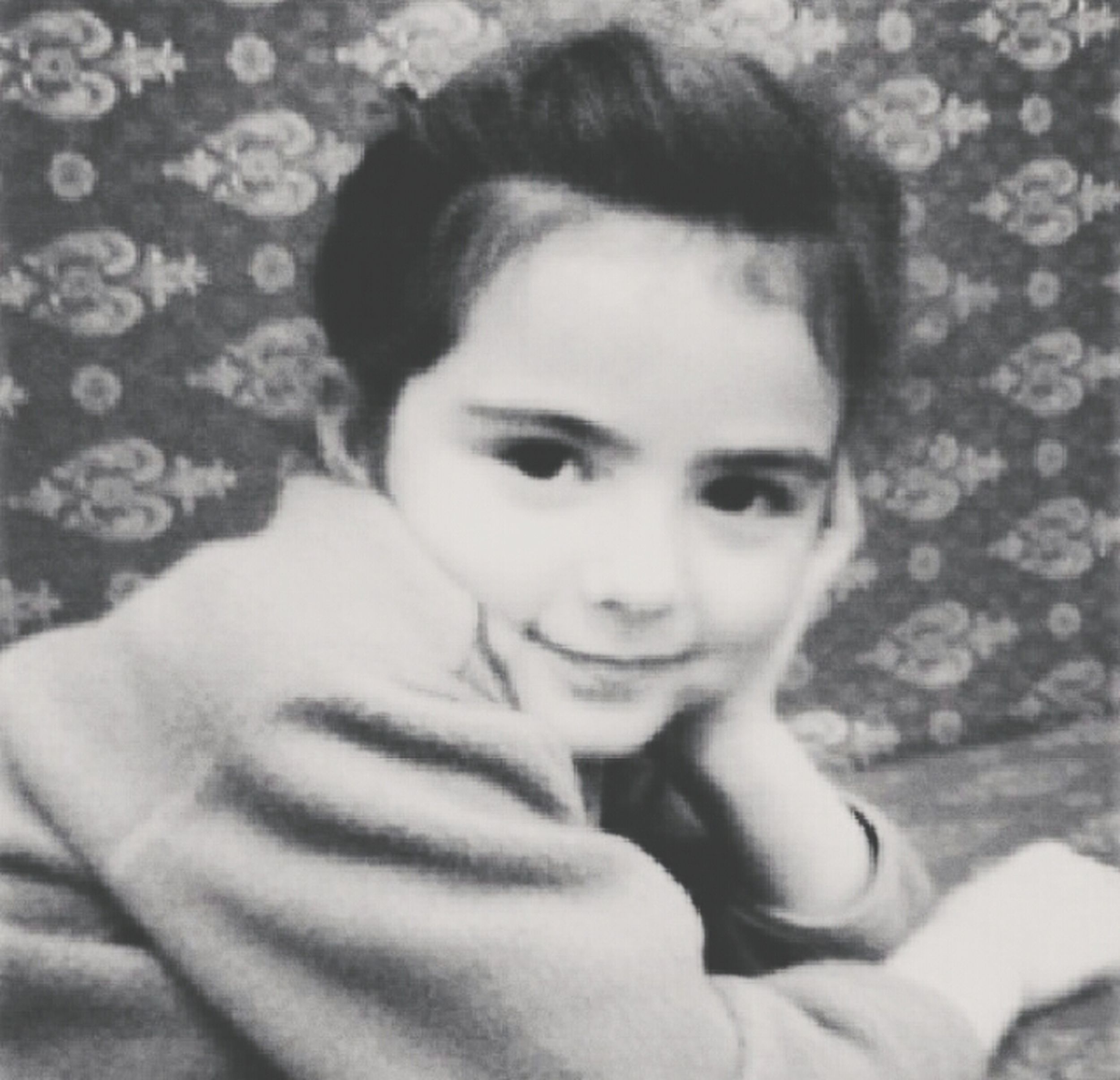 Check This Out Cute Beautiful Girl Black & White