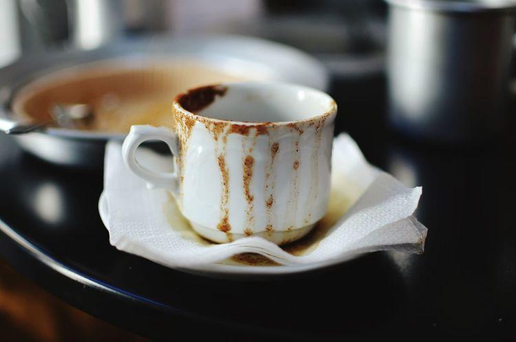 Greek Coffee  Cup Rhodes Greece Sippin
