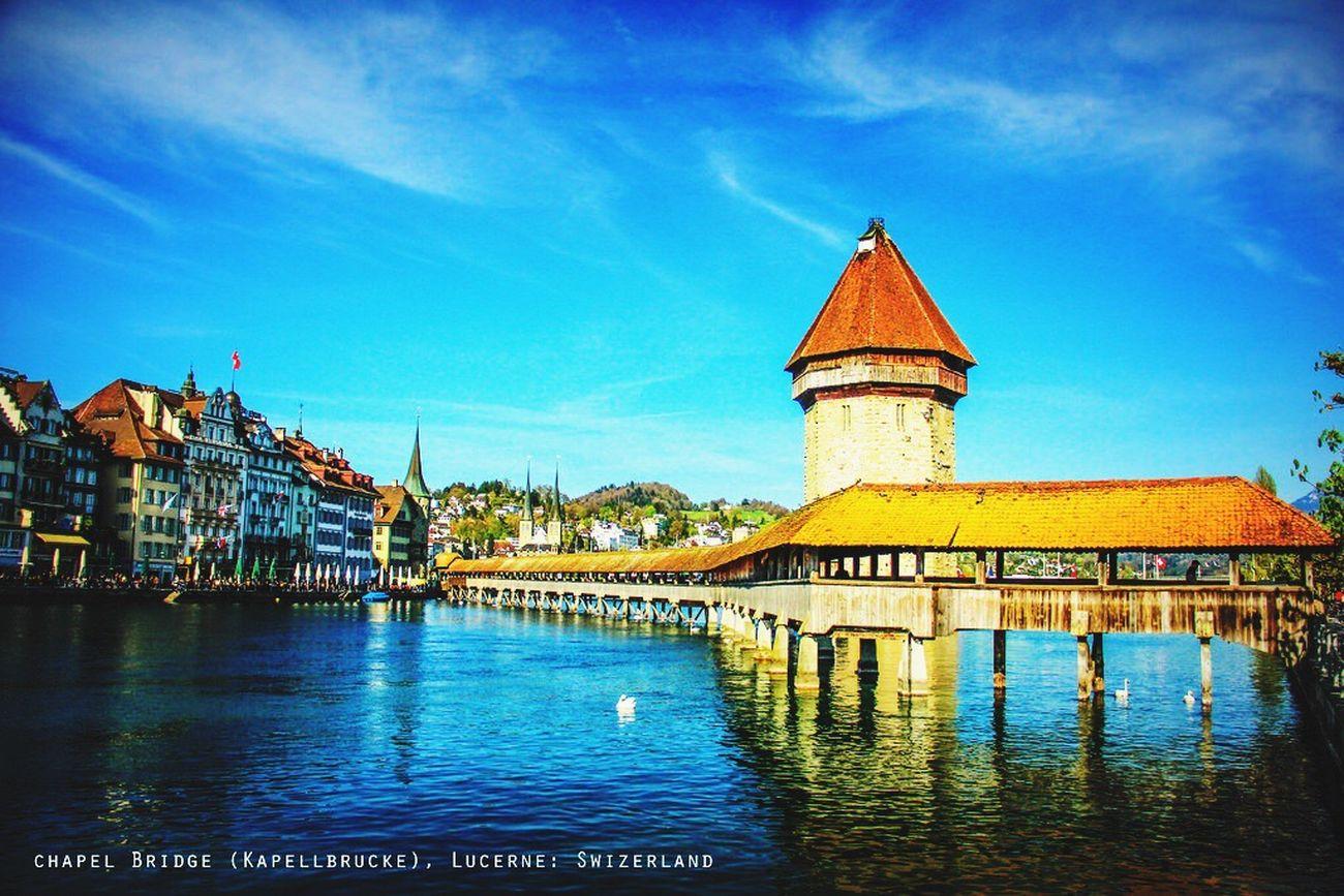 TheChapelBridge Bridge Lucerne Swizerland