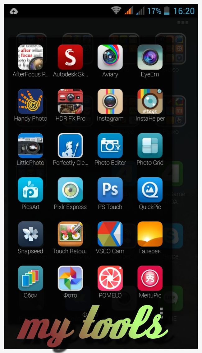 My Tools FX My Apps