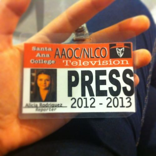 Got my press pass 😄🎥📺 Presspass Reporter Sac Mylife oc caligirl usa excited california fun happy lovethisclass
