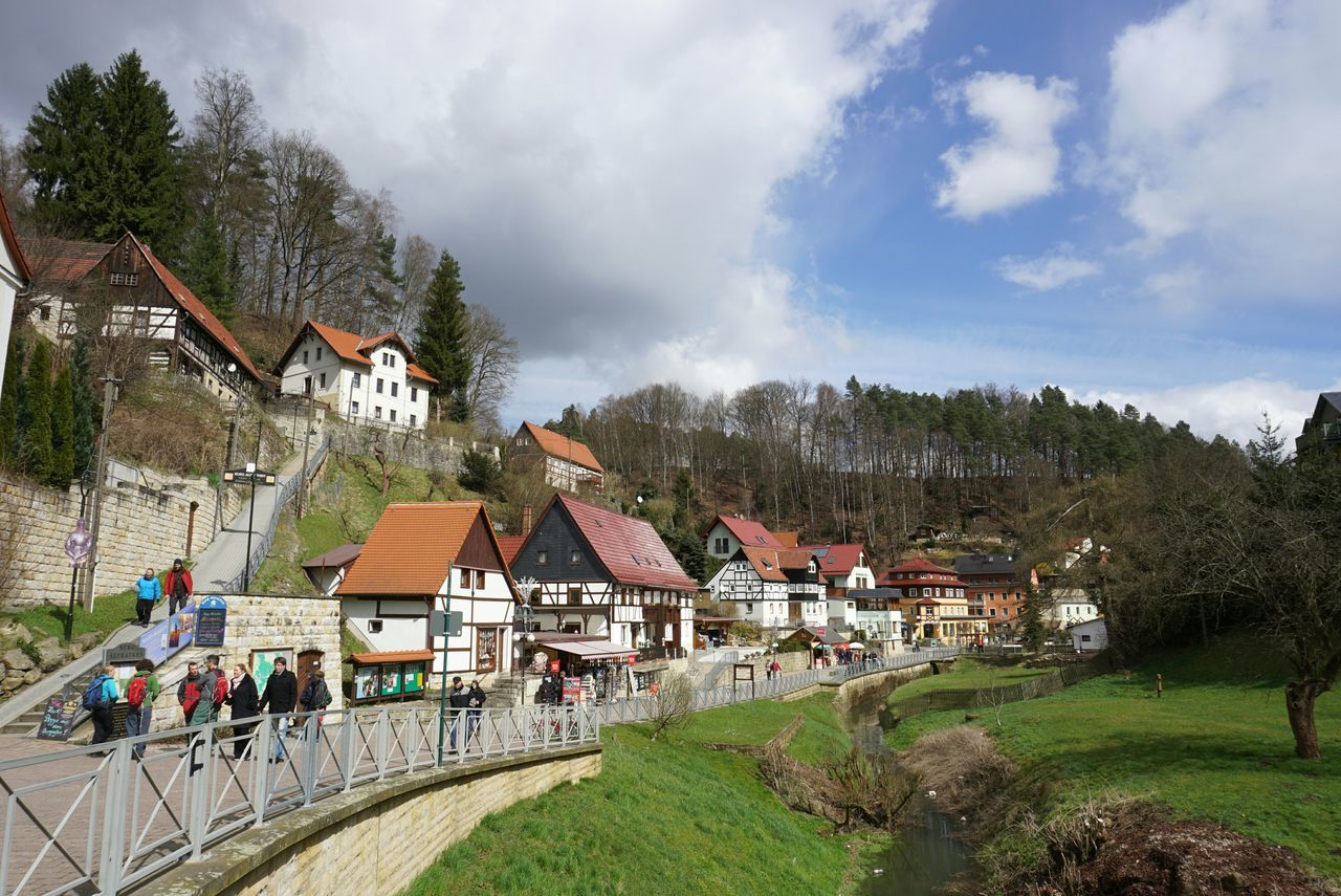 village. Rathen Basteibrücke Germany Wanderlust Colours Houses Village Sun Sky Travel GetYourGuide Cityscapes The Tourist