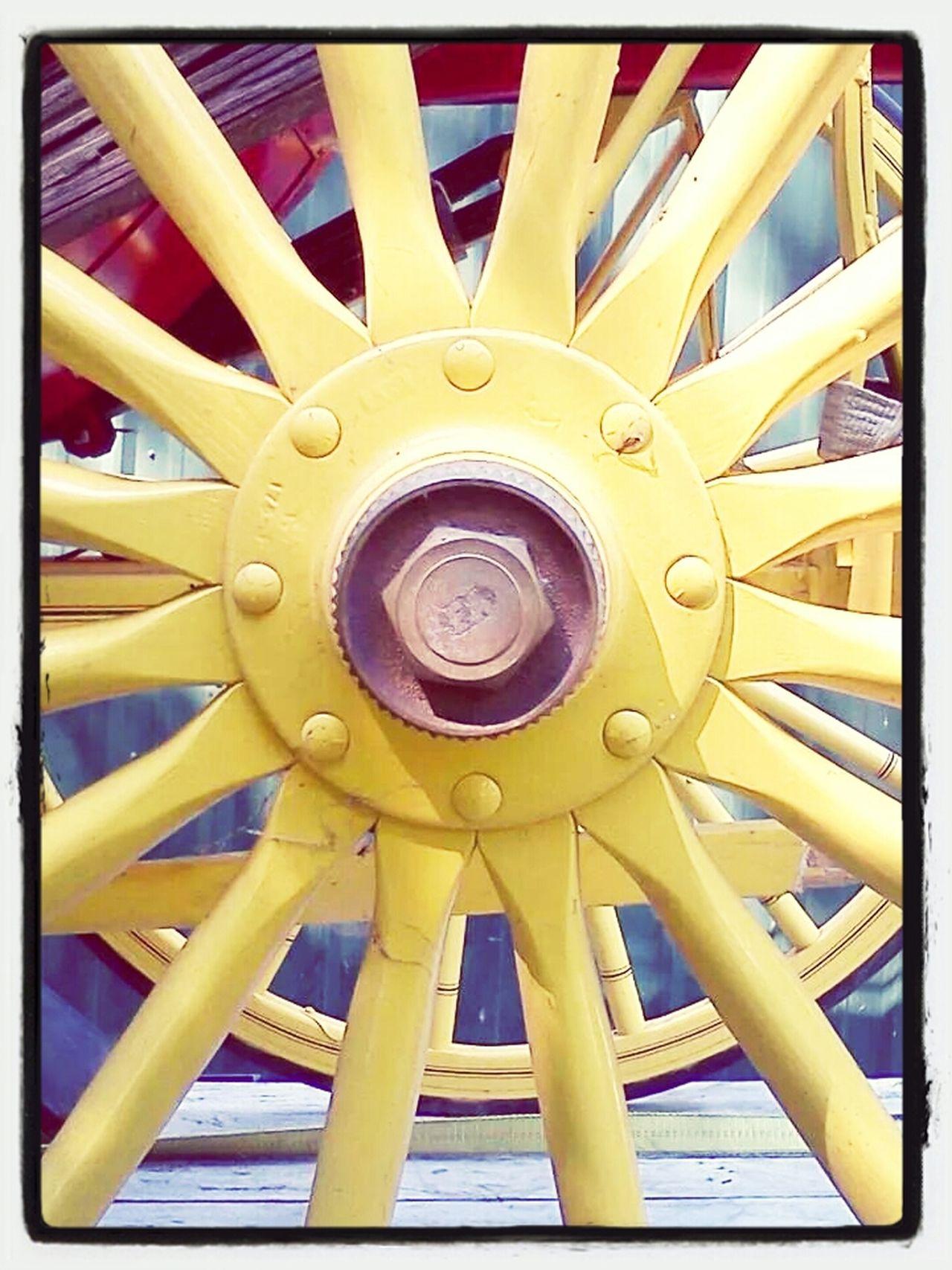 Taking Photos Colors Sunburst Wheels