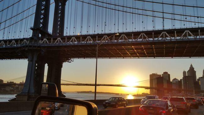 FDR sunset Sunset Fdr Pixelperfectnyc David Gutierrez Traffic Beautiful EyeEm Best Shots New York New York City Beautiful Sunset