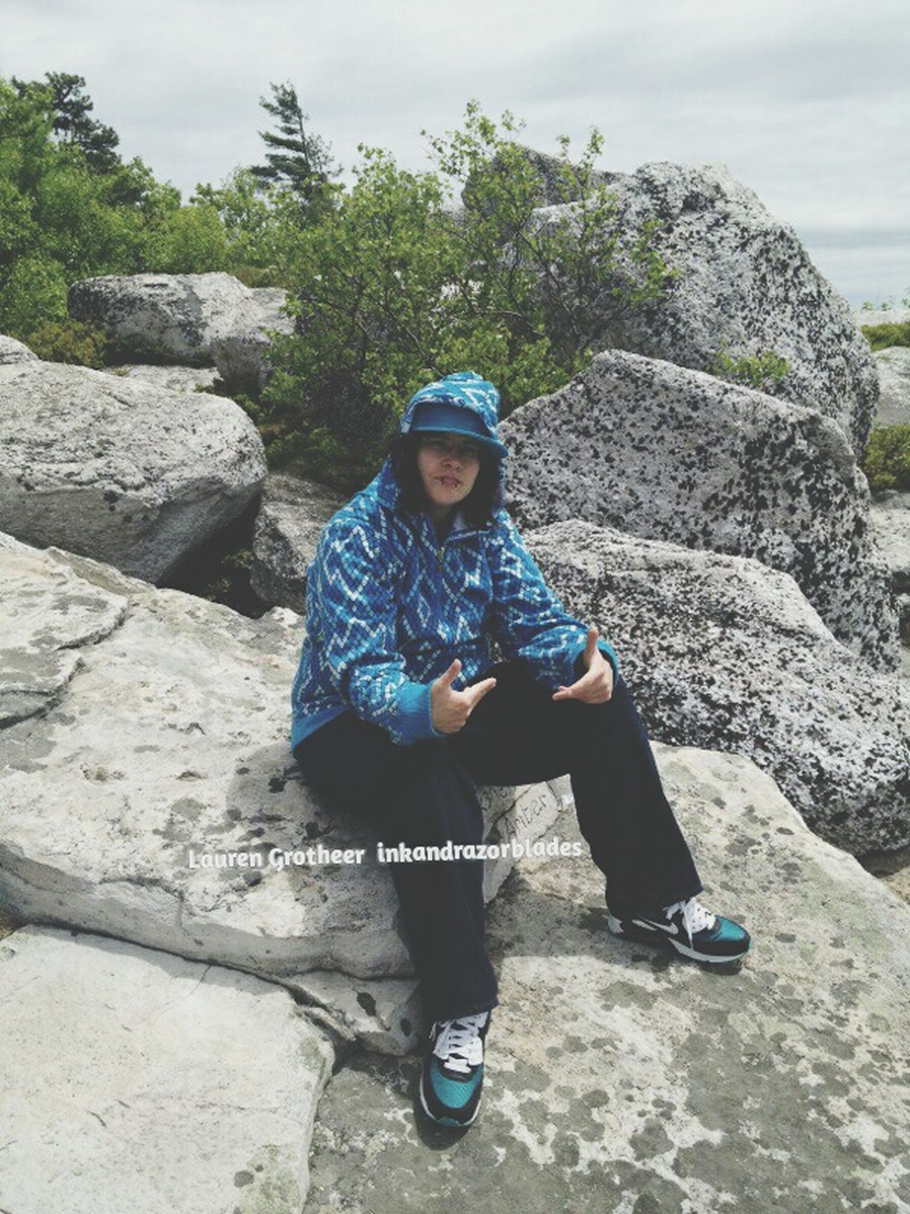 ThatsMe Cliffs Thuggin Chillaxing Hoody Nature_collection Outdoors SWERVE