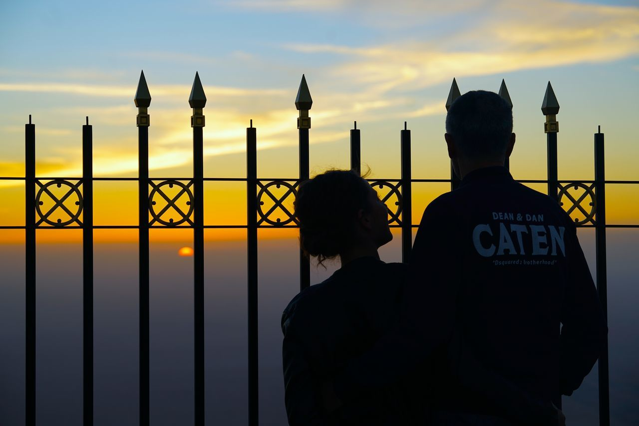 Adult Batman ❤ Communication Couple Men Mom Moon Non Recognizable People Outdoors Rear View Relationship Relaxing Romance Silhouette Sky Stranger Travel Traveling