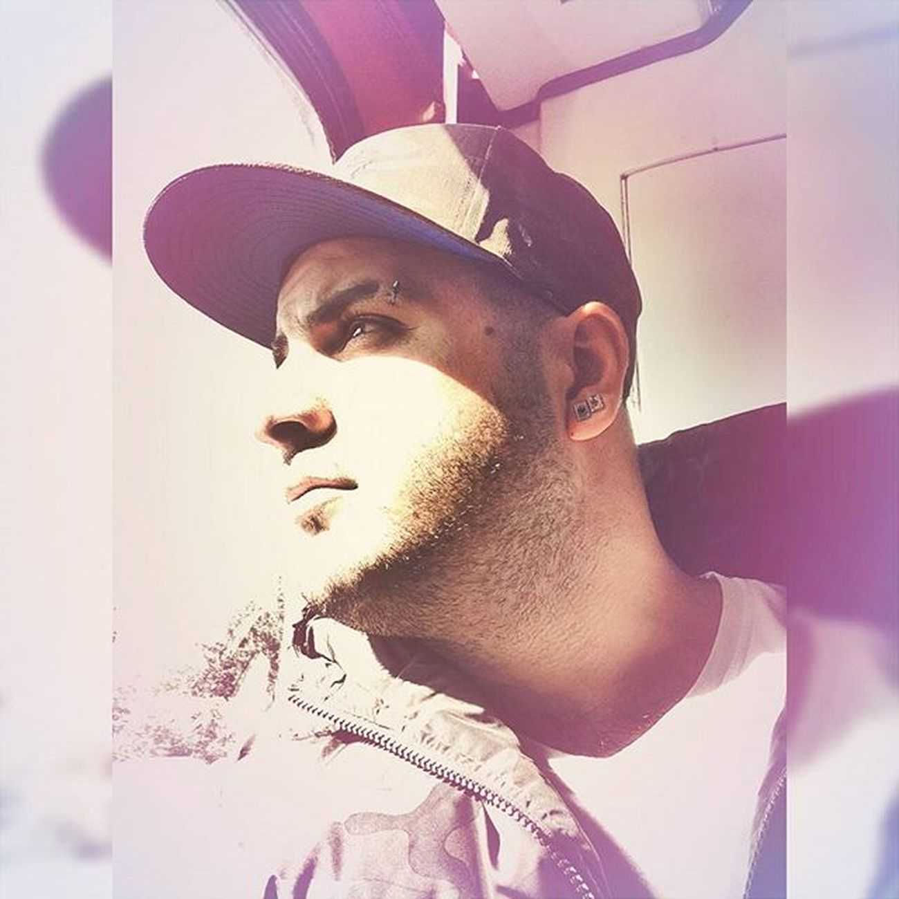 Güzel günler göreceğiz çocuklar ☺ Cap Fullcap Piercing Earrings Küpe Küpeler Me Ben Smile Smiles Smiley Hello Retro Retrocam Mycam MYSELFIE Instamood Instamorning Instagood Instadaily Instaforever