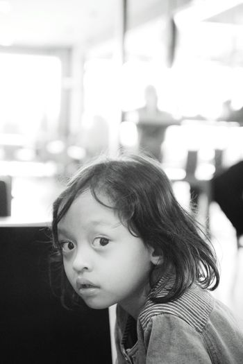 Black And White Child Monochrome Photography