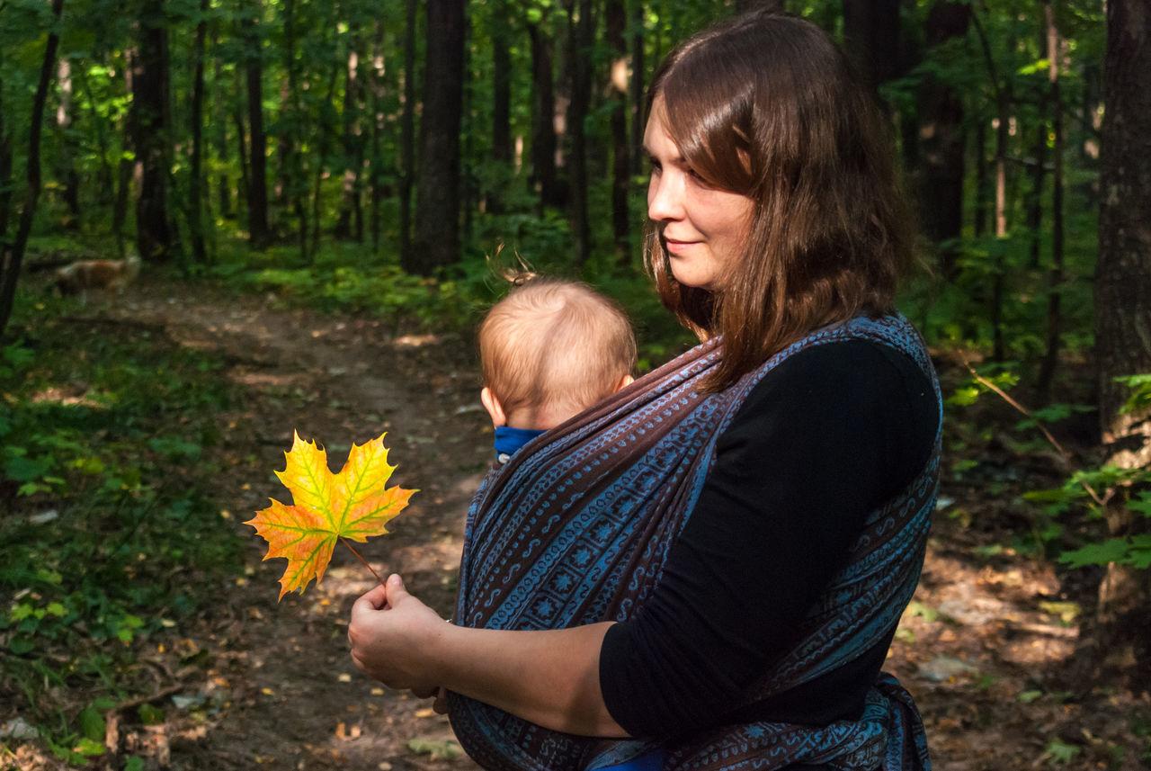Beautiful stock photos of schwangerschaft, 2-5 Months, 25-29 Years, Baby, Baby Carrier